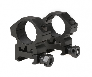 [THO-09-011612] Two-part 25mm optics mount for RIS rail (low)